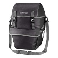 ORTLIEB Bike-Packer Plus - granite - black